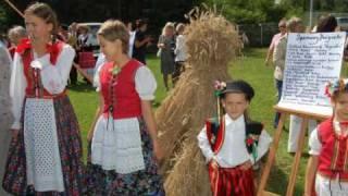 preview picture of video 'Dożynki powiatu kieleckiego cz.II Raków 2009'