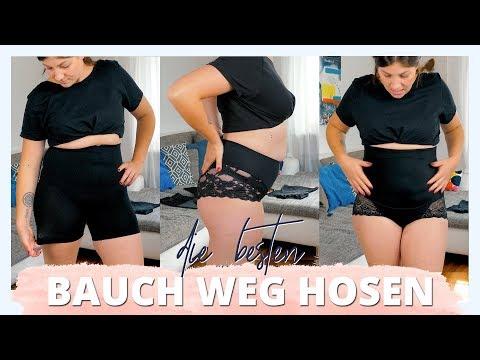 BAUCH WEG HOSEN LIVE TEST | teuer vs. günstig - Welcher Bodyshaper kann mehr? | #kleinundkurvig