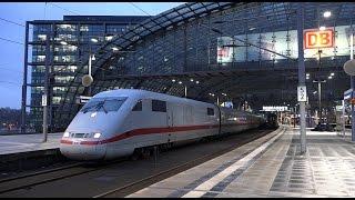 Züge am Berlin Hauptbahnhof