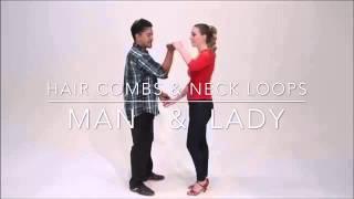 #02.01 Bachata : Hair Combs & Neck Loops