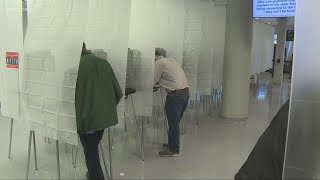 Early in-person voting begins at Ohio Board of Elections