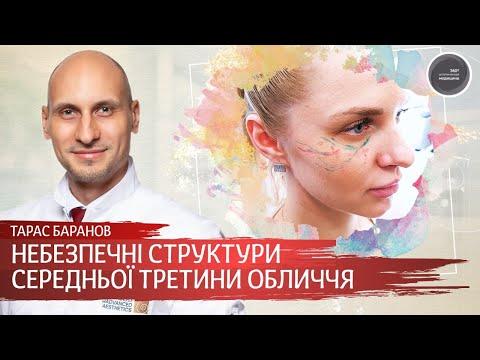 Анатомия и опасные структуры средней трети лица