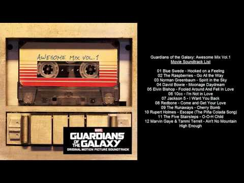 Guardians of the Galaxy: Awesome Mix Vol.1 Movie Soundtrack List