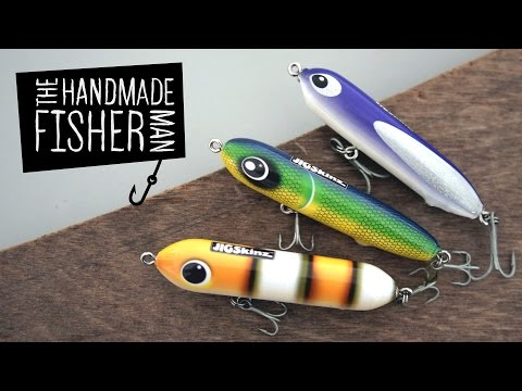 Making Hard Plastic Fishing Lures on the Lathe Part 1 Resin and