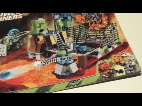Vidéo LEGO Power Miners 8191 : Lavatraz