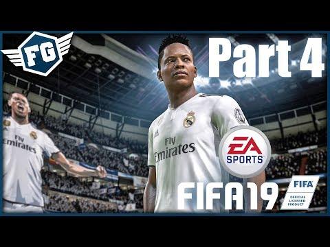 PRVNÍ ZÁPAS ZA REAL - FIFA 19: Cesta #4
