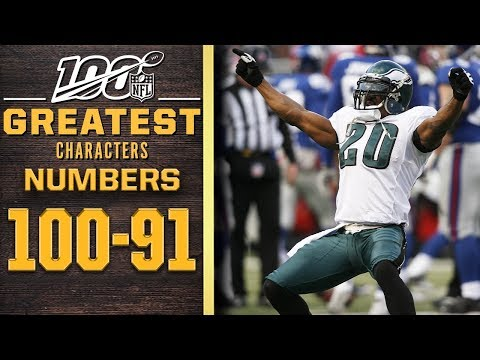 100 Greatest Characters: Numbers 100-91 | NFL 100