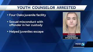 Former counselor accused of having sex with youth offender