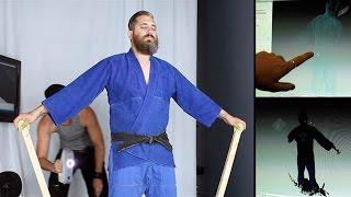 QUANTUM JUJITSU: Martial Arts Motion Capture Demo With Sensei Corbell