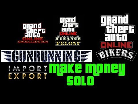 GTA CEO Business Guide For Solo Players: Gunrunning + Import/Export