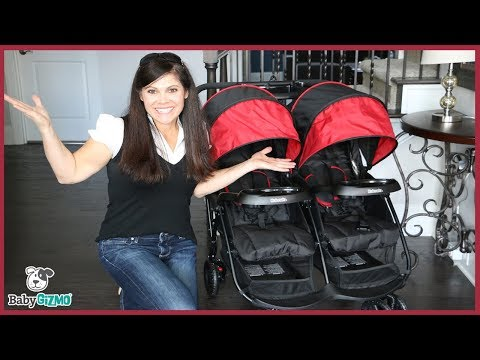 Kolcraft Cloud Plus Double Stroller Review by Baby Gizmo