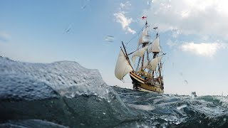 Watch: Mayflower replica ship returns home after £8.6 million restoration