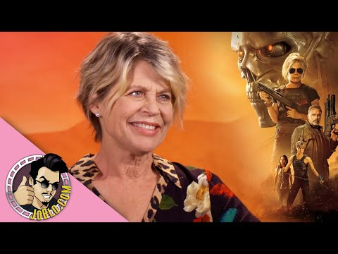 Linda Hamilton Interview for Terminator: Dark Fate