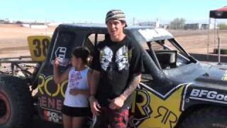 Deegan Practice  Lucas Oil Off Road Racing Series