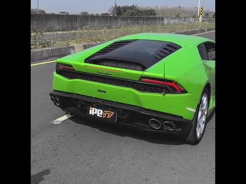 Lamborghini Huracán LP610-4 with full iPE Exhaust system