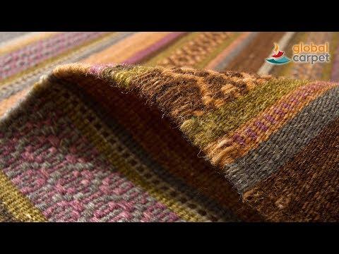 """global-carpet präsentiert den Kelim-Teppich """"Palas"""""""