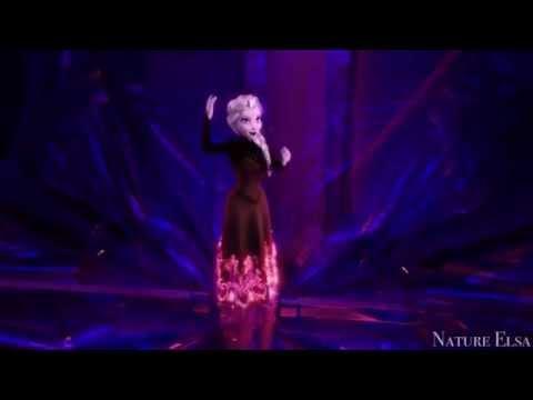 Multi-colored Elsa~ Dress Transformation