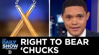 Legalized Nunchucks in New York & Arizona's Self-Driving Car Backlash | The Daily Show