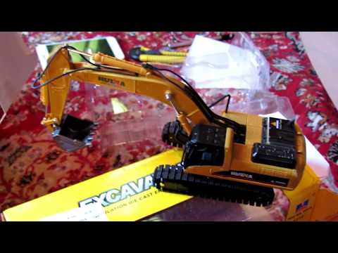 kids Excavator Truck Cars toys 1:50 metal engineering vehicle toys children gift