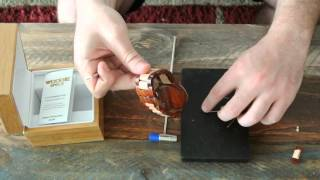 How to remove links on a wooden watch with pins that have no screws from Woodie Specs