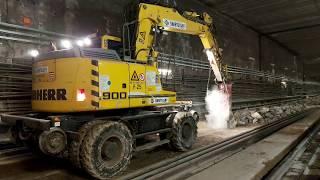 M3 metrófelújítás - Déli szakasz (2020.02.18.)