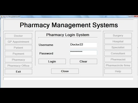 How to Create Pharmacy Management System in Visual Basic.Net – Full Tutorial