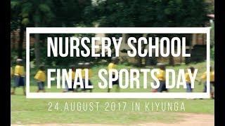 Nursery Kindergarten-Semesterabschluss Sporttag