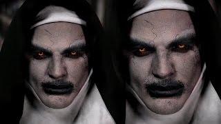 Valak Demon Nun Halloween Makeup Tutorial | The Conjuring 2