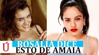 Rosalía Se Pronuncia Sobre El Relámpago Y Sobre Amaia Romero
