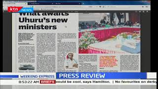 What awaits Uhuru's new ministers