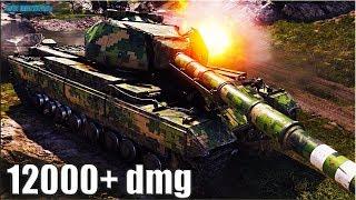Super Conqueror РЕКОРД по УРОНУ 🌟 12000+ dmg 🌟 World of Tanks лучший бой на тт 10 супер конь