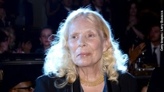 Joni Mitchell's Website Denies Reports She's In A Coma