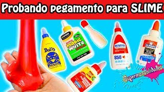 What is the best glue for Slime? (testing 17 brands) / Supermanualidades