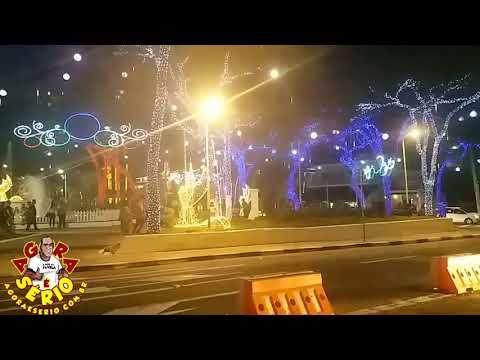Iluminação da Praça do Taboão da Serra 2017