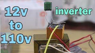 12v To 110v Inverter Using capacitor