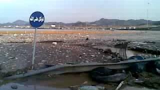 preview picture of video 'سيل جدة - بحرة الكوبري الميت 8-12-1430هـ - فوزي شلا.mp4'