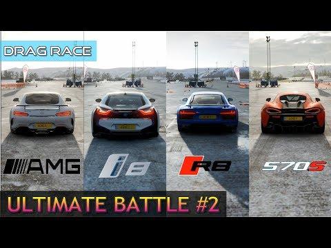 Jon Vlogs Bmw I8 Vs Rezende Evil Audi R8 Carros De Youtubers