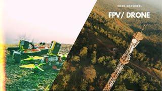 Cinematic fpv drone showreel 2020 - India