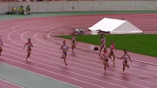 2017 U20陸上  女子400m 決勝A,B