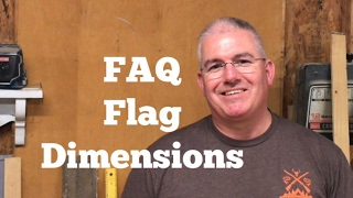 Rustic American Flag / FAQ What Are The Dimensions Of The Flags