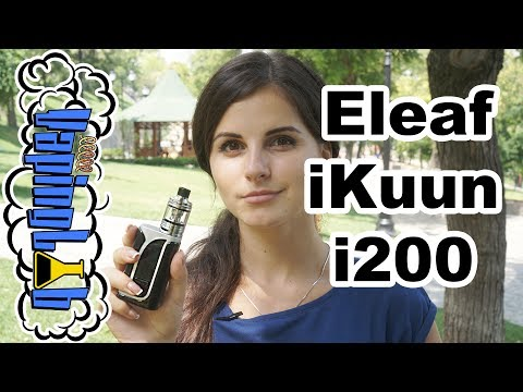 Eleaf iKuun i200 with MELO 4