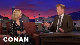 Lisa Kudrow Is Still Trying To Trace Conan's Genealogy  - CONAN on TBS