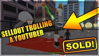 SELLOUT TROLLING A YOUTUBER - ROBLOX RB World 2 Trolling Video