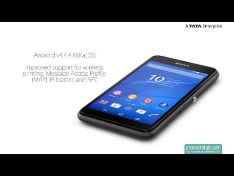 Sony Xperia E4g (Dual SIM, GSM) (Black)