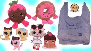 Walmart Valentines Day Haul - Shopkins + LOL Surprise Cards