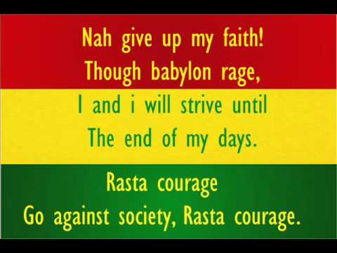 Rasta Courage - S.O.J.A - With Lyrics