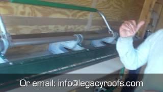 How to Bend Metal Flashing - Legacy Flat Roofing & Sheet Metal London Ontario