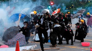 'When the Chinese move in, Hong Kong stability will be destroyed'