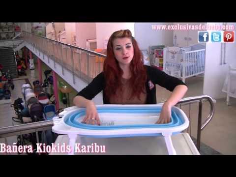 Bañera bebes Kiokids Karibu