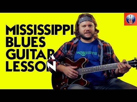 Mississippi Blues Riff - Blues Guitar Lesson